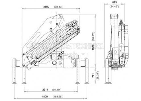 Palfinger PK 23500 PERFORMANCE (Код модели: 7809)