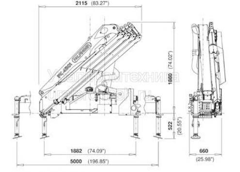 Palfinger PK 4501 HIGH PERFORMANCE (Код модели: 7801)
