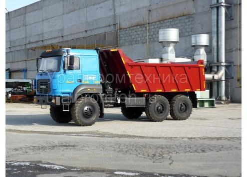 Самосвал Урал 55571 объем кузова 12 куб.м. (58312G)