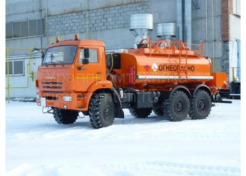 Автотопливозаправщик АТЗ-10 66021А (шасси КамАЗ 43118)