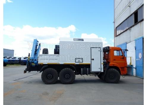 Агрегат АРОК на шасси КамАЗ 43118