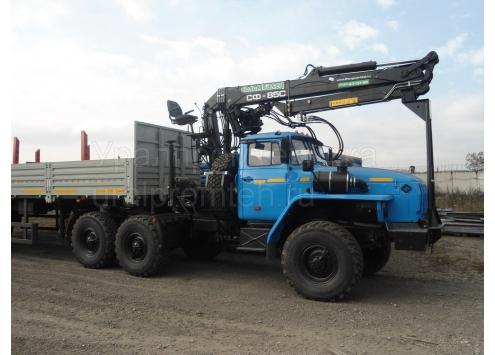 Кран-манипулятор автомобильный на шасси Урал-4320