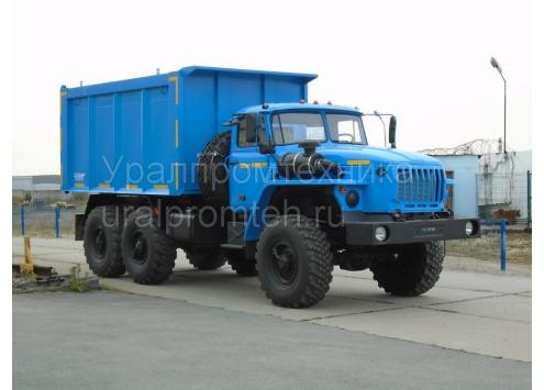 Самосвал углевоз Урал 55571 (58312A)