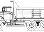 Купить самосвал Урал 55571 с увеличенным кузовом