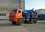 Трубоплетевозный автопоезд: автомобиль-тягач КамАЗ-43118