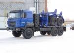 Тягач трубоплетевозный газомоторный Урал 4320 (59605B)