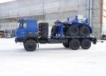 Продажа трубоплетевозный автопоезд Урал с газовым двигателем