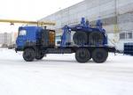 Купить газомоторный трубоплетевозный автопоезд Урал-4320