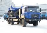 Трубовоз Урал на компримированном природном газе