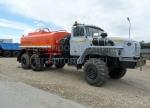 Автотопливозаправщик - АТЗ-10 на шасси Урал 4320