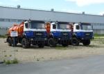 Автомобиль для сбора нефтеконденсата АКН-10 (шасси Урал-5557 бескапотное)