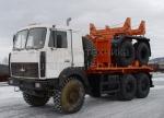 Трубоплетевоз МАЗ 641705 (690215) с прицепом роспуском