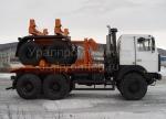 Трубоплетевозный автопоезд МАЗ 690215