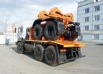 Купить трубовоз Урал 6370 с прицепом роспуском, 20 тонн
