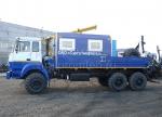 Агрегат для ремонта станков качалок на шасси Урал