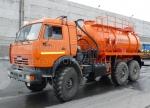Агрегат для сбора конденсата нефти АКН-10 (КамАЗ 43118)