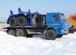 Трубоплетевоз КамАЗ 43118 с газовым двигателем (5960G1)