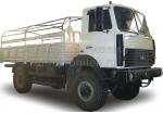 Бортовой МАЗ 4387 с каркасом дуг для тента