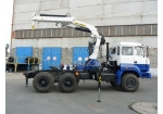 Седельный тягач с кран-манипулятором Урал 44202