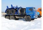 Тягач трубоплетевозный КамАЗ 43118 газомоторный (5960G1)