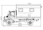 Передвижная мастерская Unimog 4x4