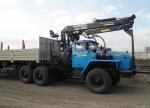 Седельный тягач с манипулятором Урал-4320