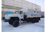 Передвижная мастерская на шасси Урал 4320