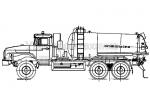 Агрегат для сбора газового конденсата АКН-10 - Урал 4320