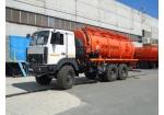 Автомобиль для сбора нефтеконденсата АКН-18 на шасси МАЗ 6317X5