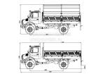 Бортовой автомобиль Unimog 4x4